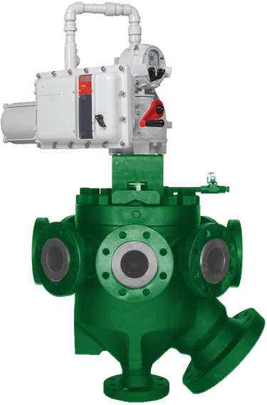 Fisher Multiport Valve Assembly