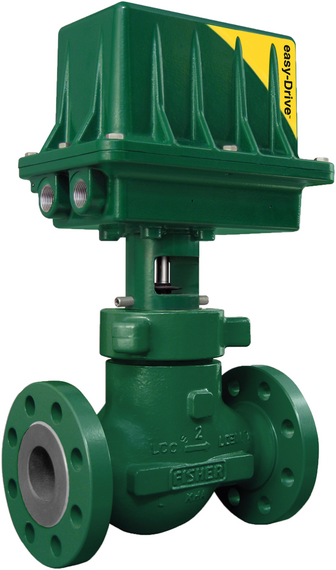 Fisher D4 control valve with easy-Drive electric actuator
