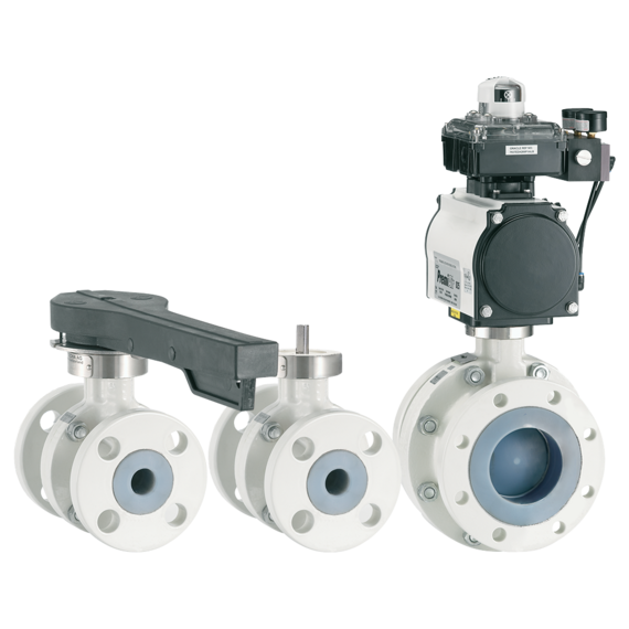 Neotecha Model NTB-NTC Lined Ball Valves-FAMILY