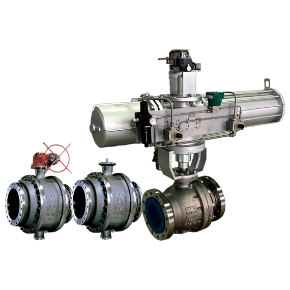 KTM Series E01 Trunnion Mounted Ball Valves-FAMILY