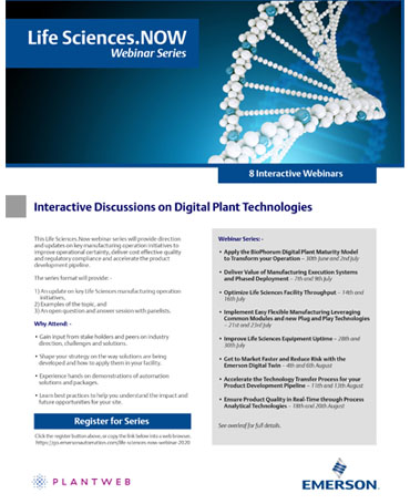 Dowload the brochure to learn more about the topics and information available in this series.
