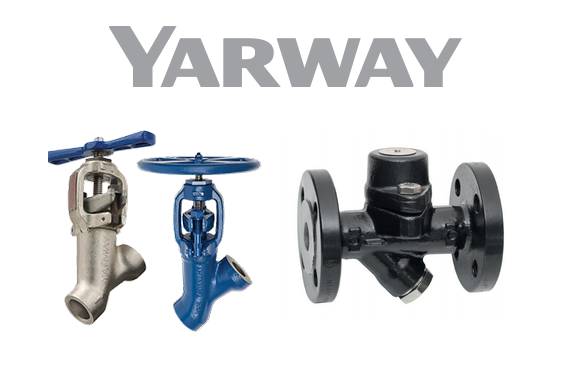 Yarway. The leading Name in Steam Traps.